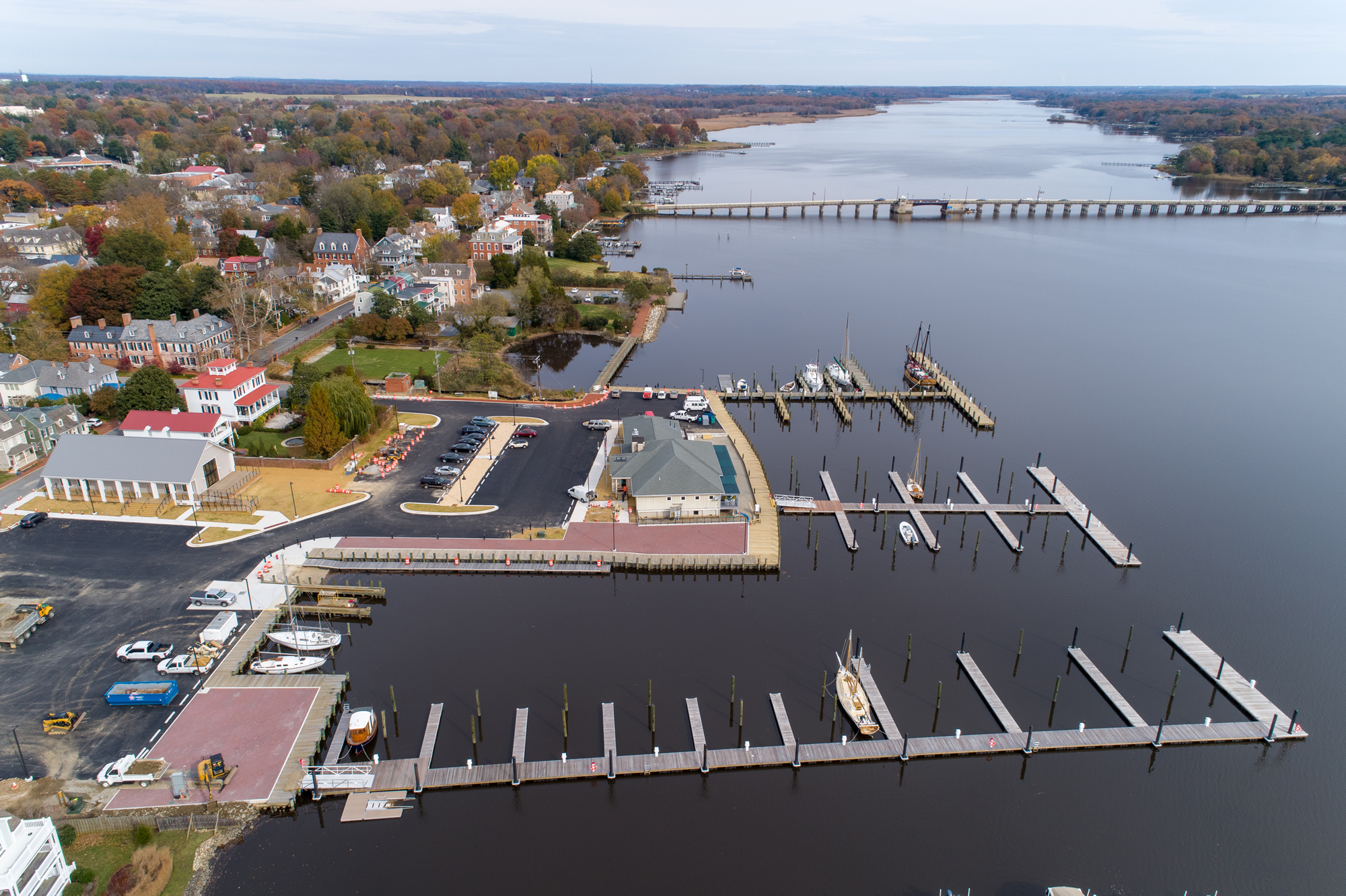 The Port of Chestertown Marina – located in Historic Chestertown